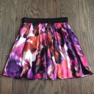 Vince Camuto Abstract A-line Skirt